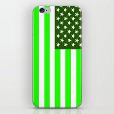 united states america green flag ecology iPhone & iPod Skin