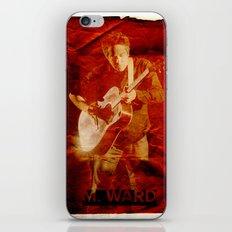 M. Ward iPhone & iPod Skin