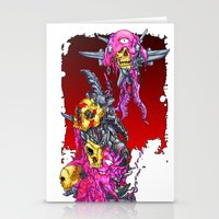 METAL MUTANT 1 Stationery Cards
