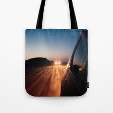 4x4 Sunset Drive Tote Bag