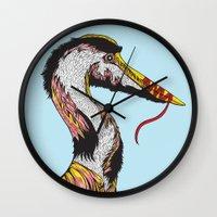 Summer Phantoms Wall Clock