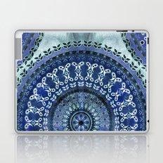 Vintage Blue Wash Mandala Laptop & iPad Skin