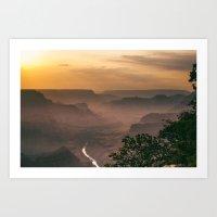 Grand Canyon - South Rim… Art Print