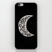 Moon Of My Life iPhone & iPod Skin