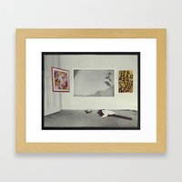 The Progressive Contraction of Love Framed Art Print