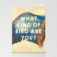 wes anderson Stationery Cards featuring Wing of a Blue Roller (1512), Albrecht Durer // Moonrise Kingdom (2012), Wes Anderson by ArtCinema