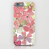 Pink Hibiscus iPhone 6 Slim Case