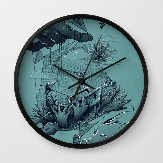 Dreamweaver Wall Clock