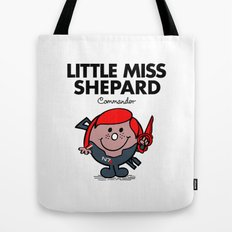 Little Miss Shepard Tote Bag