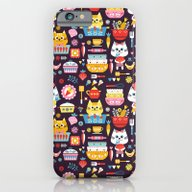 Kitchen Cats iPhone 6 Slim Case