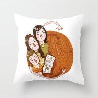 Charmed (alphabet series TV) Throw Pillow