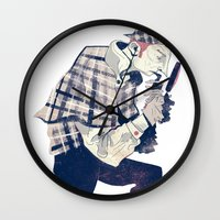 Sherlock Wall Clock