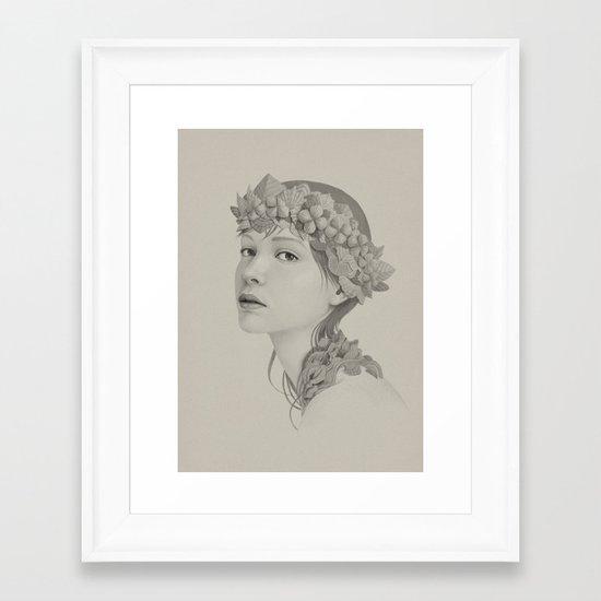 225 Framed Art Print