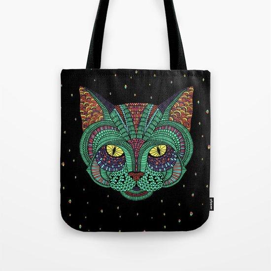 Intergalactic Cat Tote Bag