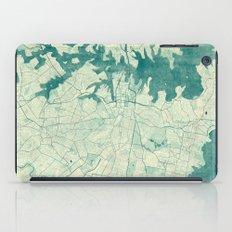 Sydney Map Blue Vintage iPad Case