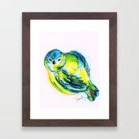 Little Birdy Framed Art Print
