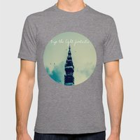 Trip The Light Fantastic… Mens Fitted Tee Tri-Grey SMALL