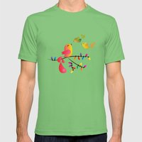 Welcome Home, My Babies! Mens Fitted Tee Grass SMALL