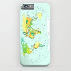 World Map Slim Case iPhone 6s