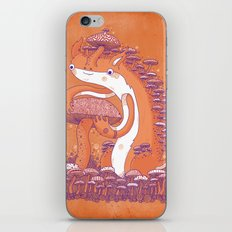The Mushroom collector iPhone & iPod Skin