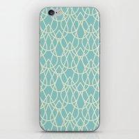 Lluvia Azul iPhone & iPod Skin