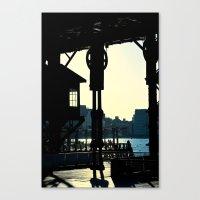 Long Island Pier Canvas Print