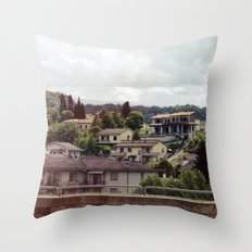 Rignano, Italy Throw Pillow