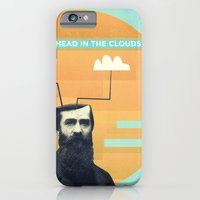 iPhone & iPod Case featuring head in the clouds by Pope Saint Victor