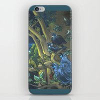 Dawn Chorus in the Primeval New Zealand Wilderness iPhone & iPod Skin