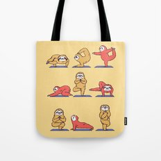 Sloth Yoga Tote Bag