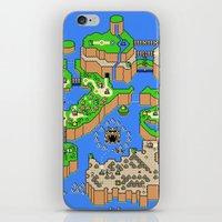Mario World iPhone & iPod Skin