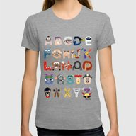 P Is For Pixar (Pixar Al… Womens Fitted Tee Tri-Grey SMALL