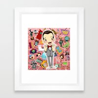 I KNOW YOU ARE, BUT WHAT… Framed Art Print