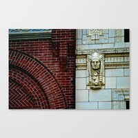 The Bricks & The Chief Canvas Print