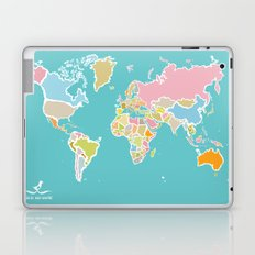 Map Print Laptop & iPad Skin