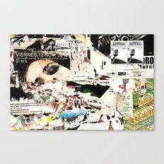 Collide 1 Canvas Print