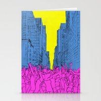Living For The City Stationery Cards
