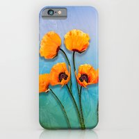 Oriental Poppies  iPhone 6 Slim Case
