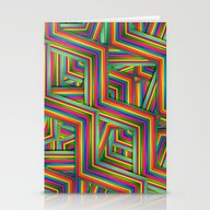 Stationery Cards featuring Therapist Pattern by Danny Ivan