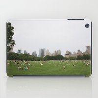 Sheep Meadow, Central Park, NYC iPad Case