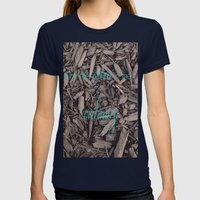 Extra Ordinary Womens Fitted Tee Navy SMALL