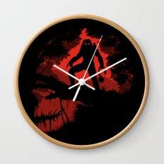 Jungle Hunter Wall Clock