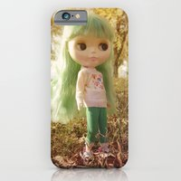 iPhone & iPod Case featuring Autumn by Miss Doll