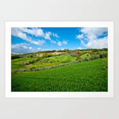 Molise landscape Art Print