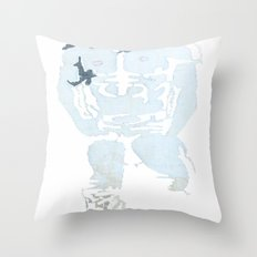 Denim Cowboy Throw Pillow