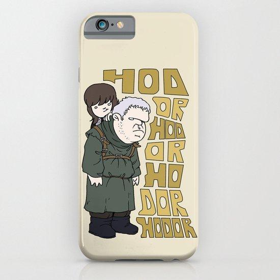 HODOR -BRAN - GAME OF THRONES  iPhone & iPod Case