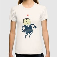 The Vampire Love Womens Fitted Tee Natural SMALL