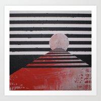 COLOSSE DE RHODES Art Print