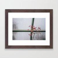 skinny love Framed Art Print