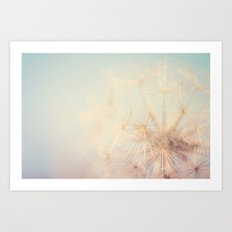 dandelion dreams ... Art Print